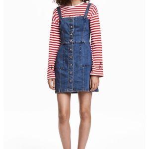 Denim Mini Dress NWT